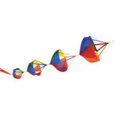 Beautiful Decorative Spinnies and Spinsocks for Kites or Decor