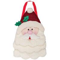 Santa's Beard Christmas Decorative Applique Door Decor