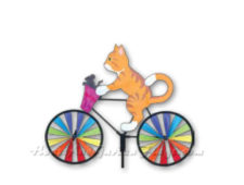 Beautiful Decorative Bicycle Lawn Spinners