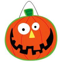 Happy Halloween Decorative PVC Hang-Arounds Door Decor