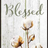 Blessed Farmhouse Collection Decorative Art Tile