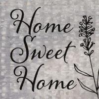 Home Sweet Home Farmhouse Collection Decorative Art Tile