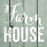 Farm House Farmhouse Collection Decorative Art Tile