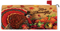 Be Thankful Thanksgiving Decorative Mailbox Makeover