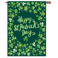 Lucky Charm St. Patrick's Reversible Decorative House Flag