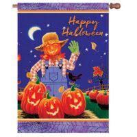 Halloween Scarecrow Decorative House Flag