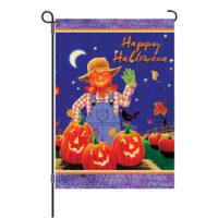 Halloween Scarecrow Decorative Garden Flag