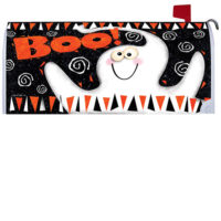 Boo Ghost Halloween Decorative Mailbox Makeover