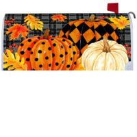 Painted Pumpkins Fall Decorative Mailbox Makeover