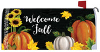 Pumpkin Trio Fall Decorative Mailbox Makeover