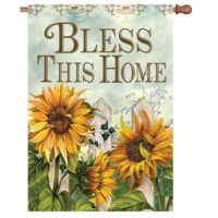 Fall Blessings Reversible Decorative House Flag