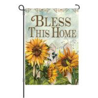 Fall Blessings Reversible Decorative Garden Flag