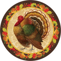 Thanksgiving Turkey Decorative Accent Magnet
