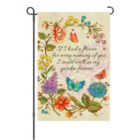 If I Had A Flower Reversible Decorative Garden Flag