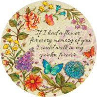 If I Had A Flower Decorative Accent Magnet