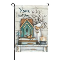 Home Sweet Home Reversible Decorative Garden Flag