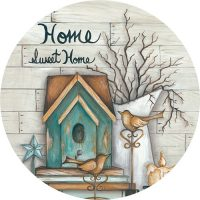 Home Sweet Home Decorative Accent Magnet