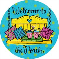 Porch Welcome Decorative Accent Magnet