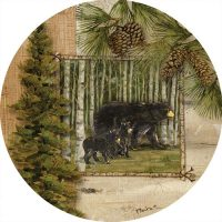 Welcome Bears Decorative Accent Magnet