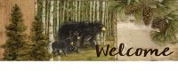 Welcome Bears Decorative Signature Sign