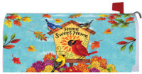 Fall Songbirds Decorative Mailbox Makeover