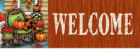 Fall Porch Decorative Signature Sign
