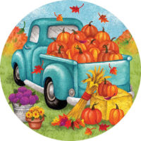 Fall Winter Accent Magnets