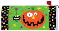 Happy Halloween Decorative Mailbox Makeover