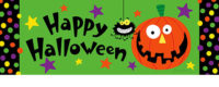 Happy Halloween Decorative Signature Sign