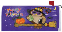 Halloween Owl Decorative Mailbox Makeover