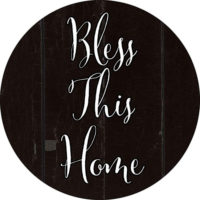 Bless This Home Farmhouse Collection Decorative Accent Magnet