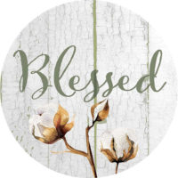 Blessed Farmhouse Collection Decorative Accent Magnet