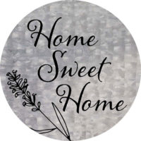 Home Sweet Home Farmhouse Collection Decorative Accent Magnet
