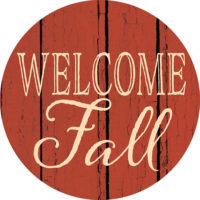 Welcome Fall Farmhouse Collection Decorative Accent Magnet