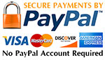 HouseandGardenFlags is secure with PayPal